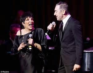 liza minnelli celebrates her 67th birthday alongside alan