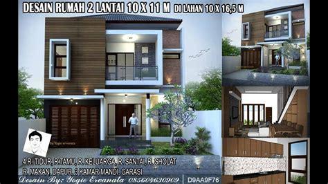 desain rumah  lantai xm  ruang tidur  lahan