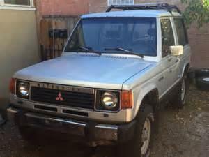 1986 Mitsubishi Montero Base 2-door 2.6l Like Toyota Fj40