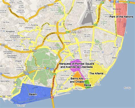 lisbon neighborhoods uamp districts interesting areas