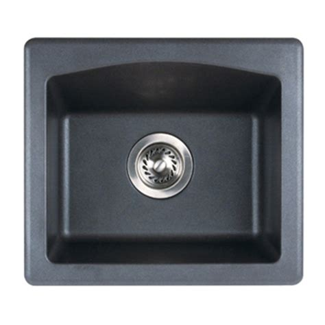 swanstone qzbs   granite bar sink espresso pictured  nero faucetdepotcom