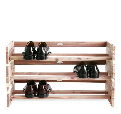 cedar shoe rack cedar shoe racks stackable cosmecol