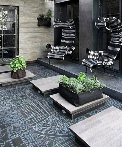 back porch flooring ideas modern terrace design 100 images and creative ideas