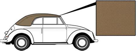 cabrio dach pflege cabrio verdeck vinyl beige 1303 8 72 187 vw k 228 fer
