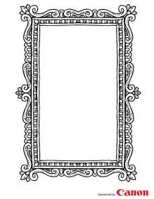 craft templates for picture frame 3
