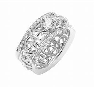 celtic wedding ring ladies white gold celtic trinity With ladies celtic wedding rings