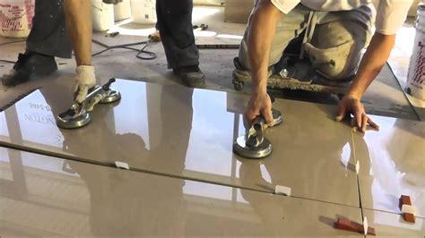 porcelain tiles   installation polmasters