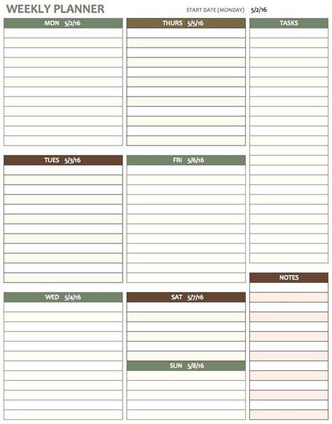 Blank weekly schedule pdf u2013 virtuart.me