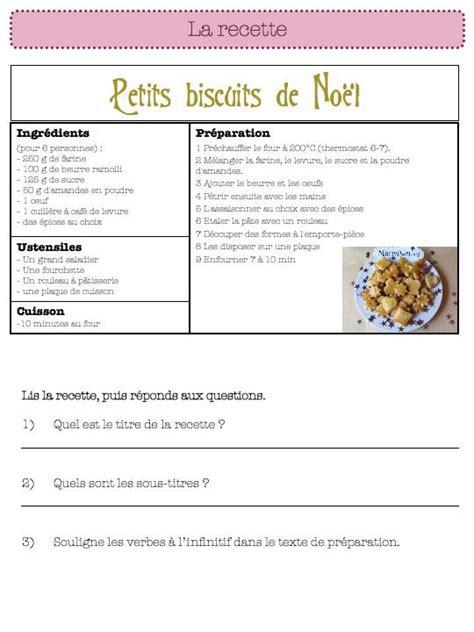 une recette de cuisine la recette fantastique ce1 ce2