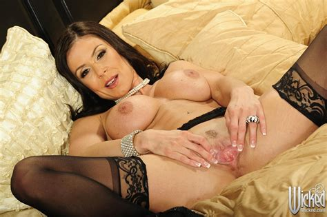 Kendra Lust In Black Stockings And Heels Having Sex With