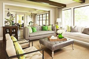 Leather Sofa Sets For Living Room Grey Color With Square