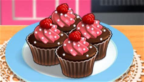jeux de cuisine de cupcake cupcakes moelleux chocolat framboises de jeu de
