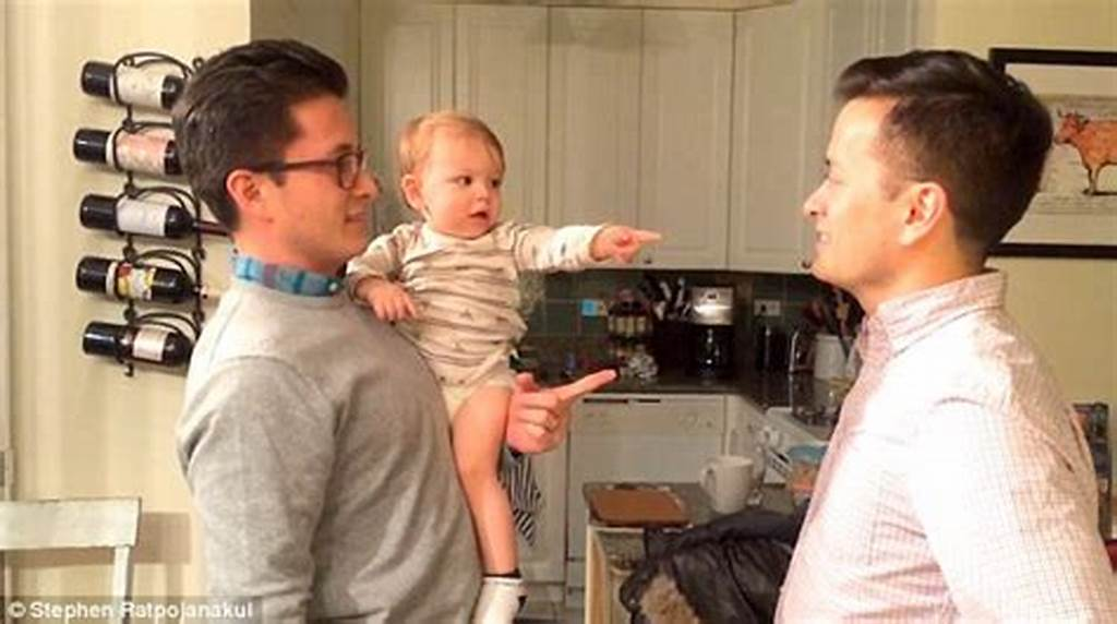 #Hilarious #Moment #Baby #Meets #His #Father'S #Identical #Twin