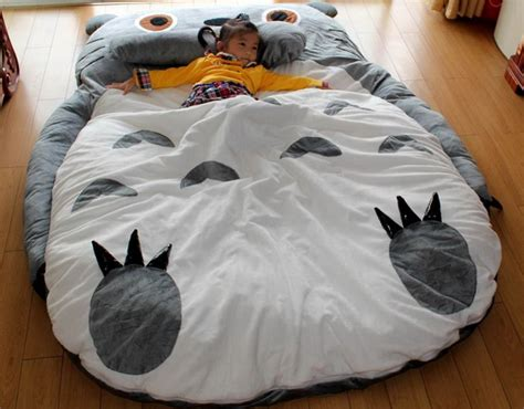 totoro sleeping bag totoro design double bed