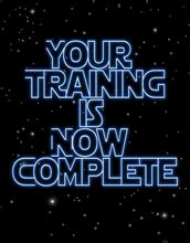 starwarsgraduation preview card  training
