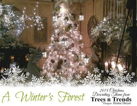 trees n trends quot winter s forest quot a snowy christmas