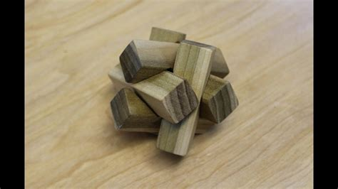 making   pc notched burr puzzle woodworking project