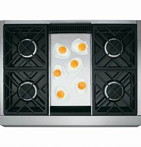 Monogram 36 U0026quot  Professional Gas Rangetop With 4 Burners And