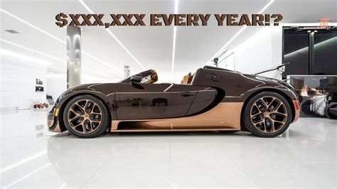 A drop down menu will appear. The maintenance costs of a Bugatti Veyron are insane