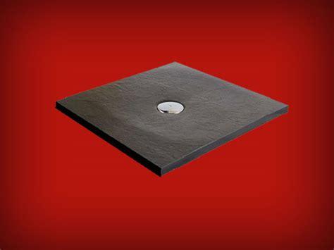 Receveur deextra plat dimension 90x90 à 90x210 Finition Pizarra de Resigres