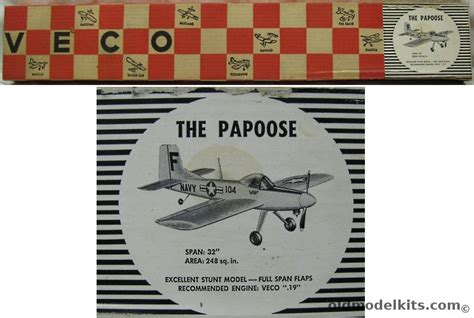 veco  papoose   wingspan gas powered control
