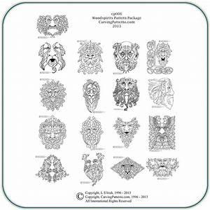 Wood, Spirit, Patterns, U2013, Classic, Carving, Patterns