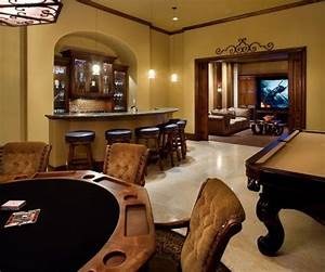 Luxury Man Cave ~ Game room ~ Bar | It's a Man's World ...