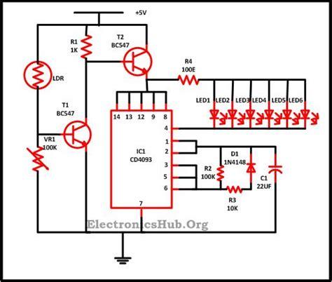 Led Christmas Lights Circuit Mini Projects