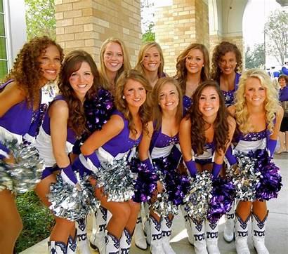 Miss Cheerleaders Tcu College Ole Cheerleadern Nackt