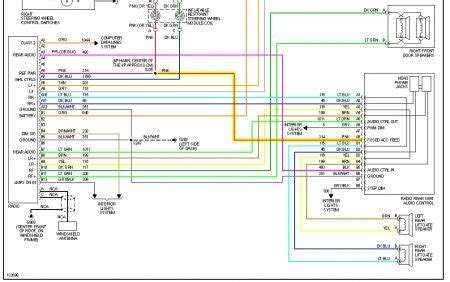 2002 Chevy Suburban Stereo Wiring Diagram by Radio Wiring Diagram Electrical Problem 2000 Chevy