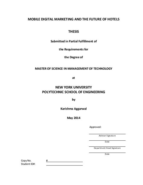 master of science in digital marketing masters thesis new york mobile digital