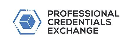 Pcx 2018 Logo by Professional Credentials Exchange Hashed Health