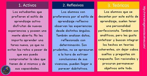 Comparativa de los 12 estilos de aprendizaje (1