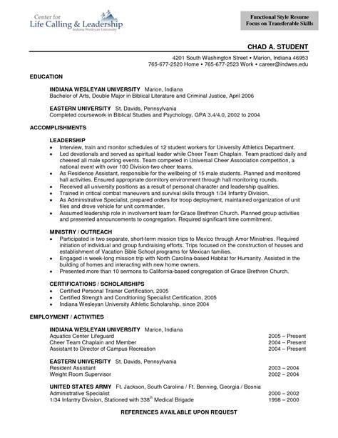 11229 professional chronological resume sles functional style resume looks like functional resume