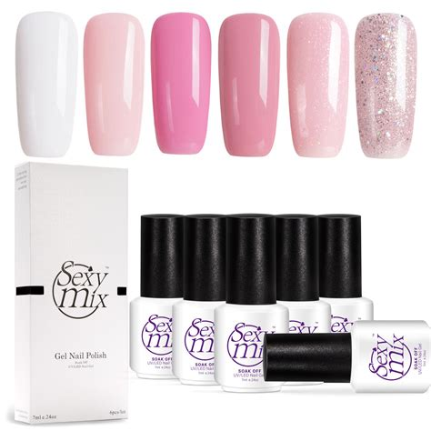 Amazon.com : SEXY MIX Soak Off LED UV Gel Nail Polish - No