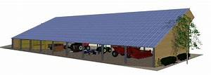 Panneau Solaire Gratuit : volti votre hangar solaire photovoltaique agricole gratuit ~ Melissatoandfro.com Idées de Décoration