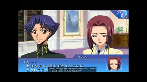 code geass lost colors code geass lost colors psp day two student council