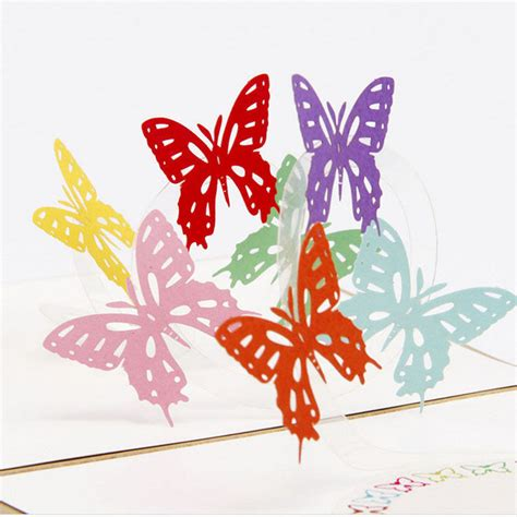 3d Happy Anniversary by 3d Pop Up Card Butterfly Happy Anniversary Birthday