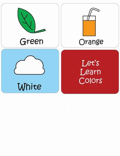 Colors Flashcard Flashcards Learning Kidspressmagazine Orange