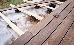 Terrasse Sur Plot : comment poser une terrasse sur plots ~ Melissatoandfro.com Idées de Décoration