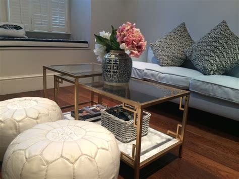DIY: GOLD AND FAUX MARBLE COFFEE TABLE IKEA HACK