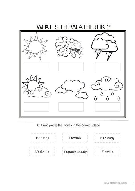 worksheet weather patterns worksheet exle