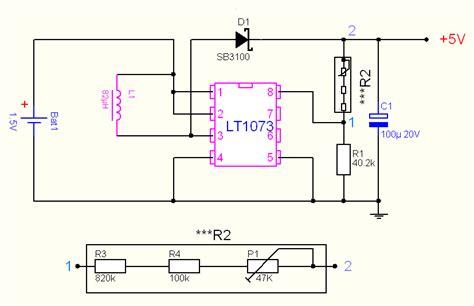Led Len 3v by 1 5v To 5v 12v Dc Dc Converter With Lt1073