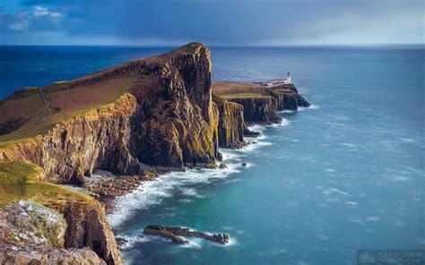 Neist Point Sunset At Isle Of Skye Scotland Uk Zoltan