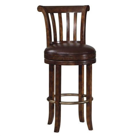 howard miller ithaca 30 quot swivel bar stool in cherry 697000