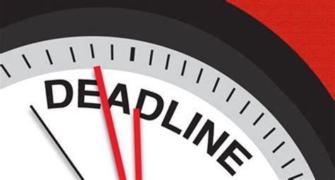 Deadlines on Opportunity Desk   Opportunity Desk