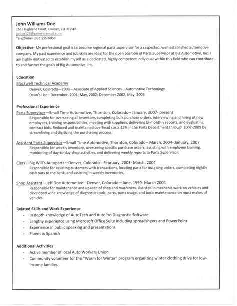Creating Resume by E526 Guide To Creating A Solid Resume