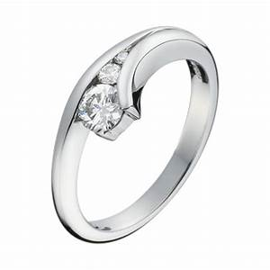 white gold three stone brilliant cut diamond engagement ring With design diamond wedding ring