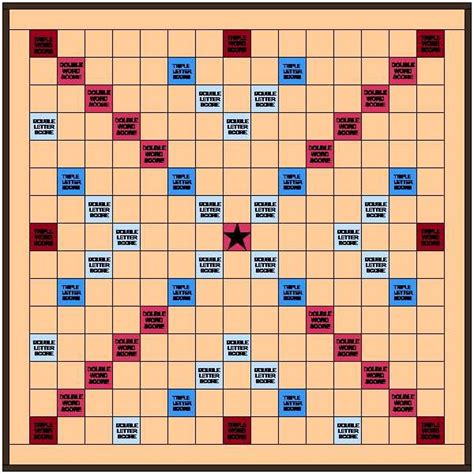 Printable Scrabble Board Layout Myideasbedroomcom