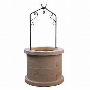 Pierre D Argent Leroy Merlin : puits de jardin en pierre reconstitu e ton pierre puits ~ Dailycaller-alerts.com Idées de Décoration